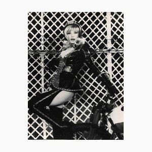 Unknown, Vintage Portrait of Monica Vitti, Vintage Black & White Photo, 1960s