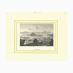 Unknown, Ancient View of San Francisco, Original Lithograph, 1850s