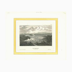 Unknown, Ancient View of San Francisco in November 1848, Original Lithograph, 1850s