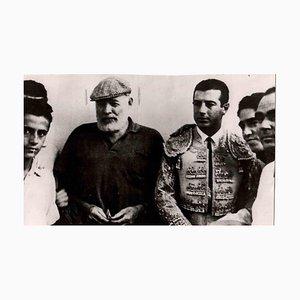 Desconocido, retrato de Ernest Hemingway, foto original, mediados del siglo XX