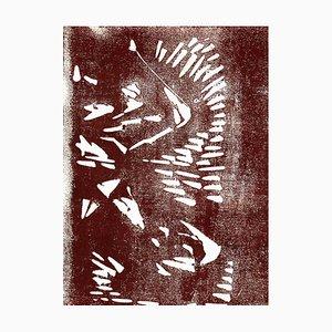 Unbekannt, Abstrakte Komposition, Original Lithographie, 1970er