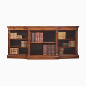 Große offene Mahagoni Bücherregale