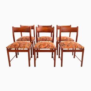 Set aus 6 Stühlen von Ilmari Tapiovaara für die Permanente von Cantù, 1960er