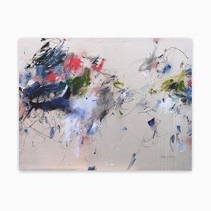 Feeling Light and Free, Abstraktes Gemälde, 2021