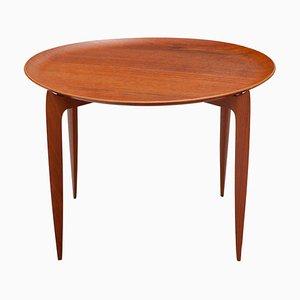 Tavolino con vassoio di Svend Åge Willumsen & Hans Engholm per Fritz Hansen, 1957