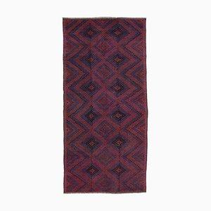 Roter türkischer Vintage Kelim Teppich
