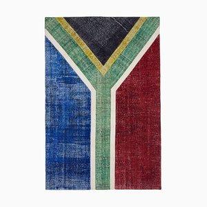 Rsa Flag Patchwork Teppich
