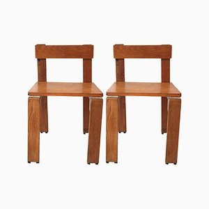 French Dining Chairs by Georges Candilis & Anja Blomstedt, 1969, Set of 2