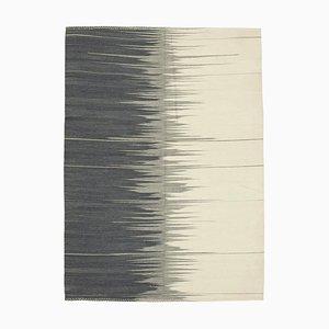 Moderner Kelim Teppich in Beige