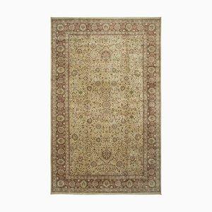 Gelber Oushak Teppich
