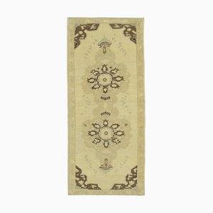 Anatolischer Vintage Teppich in Beige