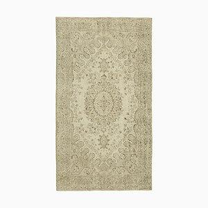 Türkischer Vintage Teppich in Beige