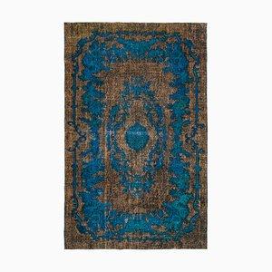 Brauner Überfärbter Teppich