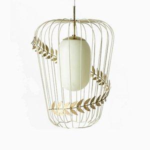 Deckenlampe von Hans Bergstrom für Ateljé Lyktan