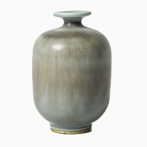Miniatur Steingut Vase von Berndt Friberg für Gustavsberg