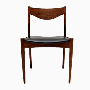 Mid-Century Rosewood Chairs by Søren Ladefoged, Set of 4