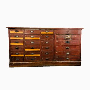 Industrial Counter or Chest of Drawers