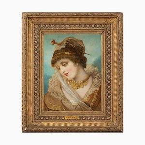 Franz Russ the Elder, Portrait of a Woman in Costume
