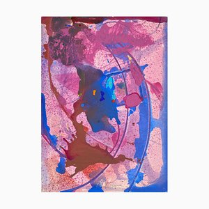 Abstract Composition by Jean Ipousteguy