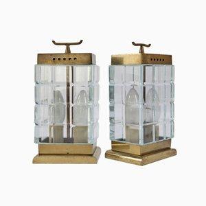 Lampes de Bureau par Pietro Chiesa pour Fontana Arte, Italie, 1930s, Set de 2