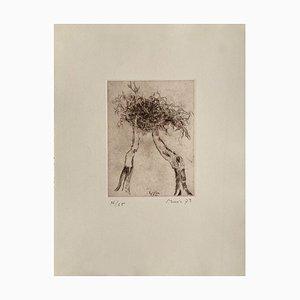 Motif végétal: Homage to Caspar David Friedrich by Zoran Music