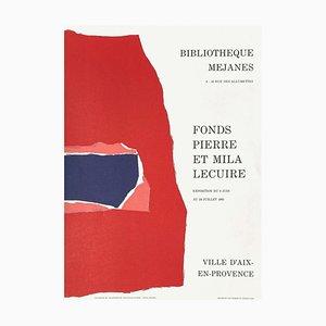 Expo 93: Bibliothèque Méjanes, Fonds Pierre Lecuire, Aix en Provence by Nicolas de Staël