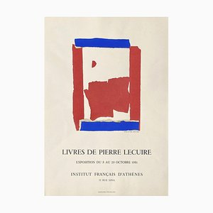 Expo 81: Livres de Pierre Lecuire, Institut Français, Athènes by Nicolas de Staël