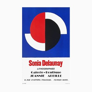 Expo 74: Galerie Jeannie Abeille, Toulouse by Sonia Delaunay