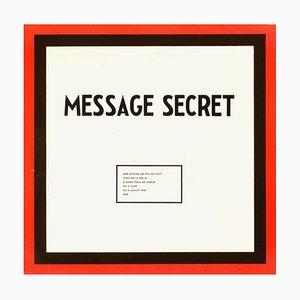 Expo 76: Message Secret, De La Salle Saint Paul by Ben Vautier