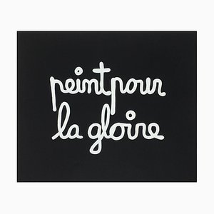 Suite Macerata: peint pour la gloire by Ben Vautier