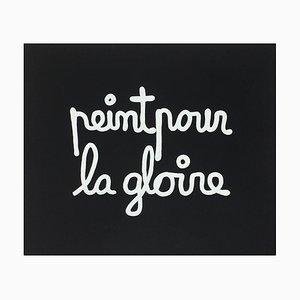Suite Macerata: Peint pour la gloire von Ben Vautier