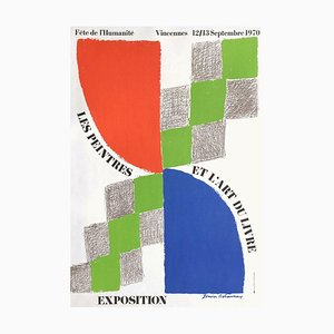 Expo 70: Fête de l'Humanité by Sonia Delaunay