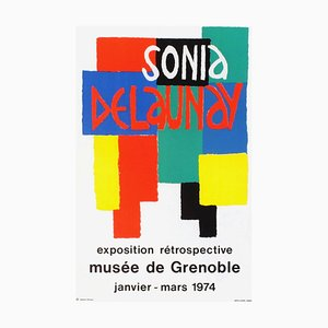 Expo 74, Musée de Grenoble von Sonia Delaunay