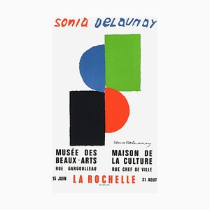 Expo 73, Musée des Beaux Arts- La Rochelle von Sonia Delaunay