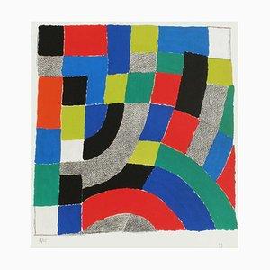 Rythme coloré by Sonia Delaunay