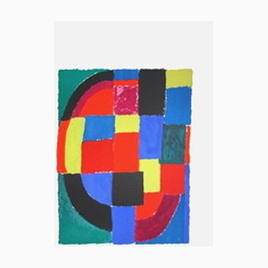 Courbe noire by Sonia Delaunay
