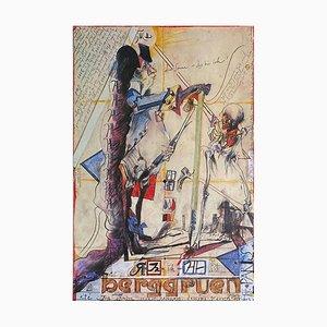 Expo 81, Berggruen, Paris von Horst Janssen