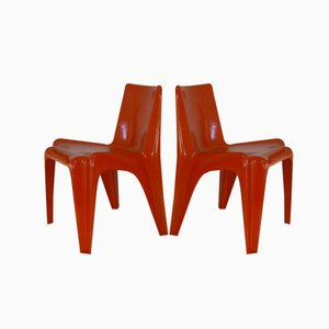 BA1171 Stühle von Helmut Bätzner für Bofinger, 2er Set
