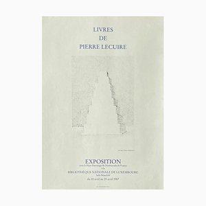 Expo 87, Livres de Pierre Lecuire, Luxembourg by Vera Pagava