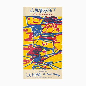 Expo 85, La Hune, Oriflammes de Jean Dubuffet
