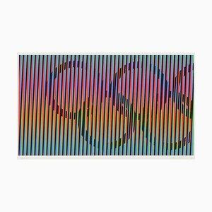 Induction chromatique, Juegos de Barcelona von Carlos Cruz-Diez