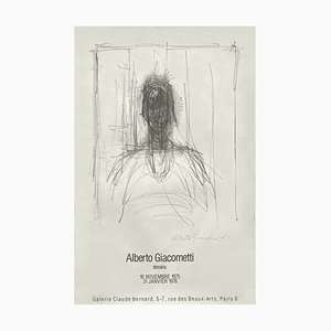 Expo 75, Galerie Claude Bernard by Alberto Giacometti