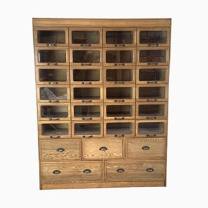 Large Vintage Haberdashery Cabinet with 29 Drawers, 1930s
