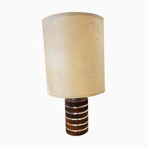 Brown Lucite and Plexiglass Table Lamp by Feliceantonio Botta, 1973