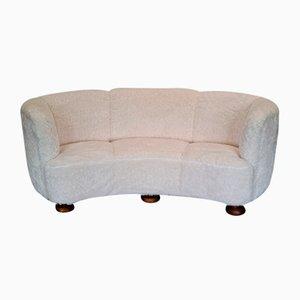 Danish Oak Sofa, 1960s
