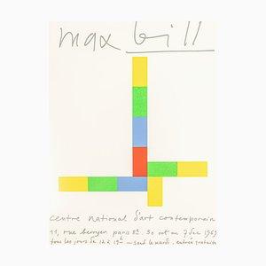 Max Bill Ausstellungsplakat