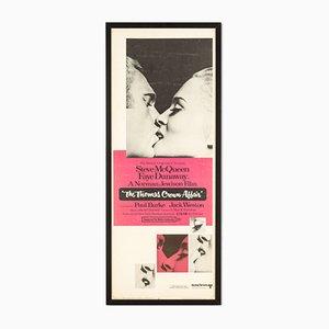Filmplakat für The Thomas Crown Affair mit Steve McQueen