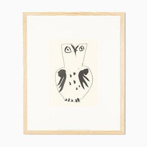 Pablo Picasso, Chouette, Sérigraphie
