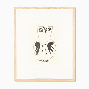 Pablo Picasso, Chouette, Serigrafía