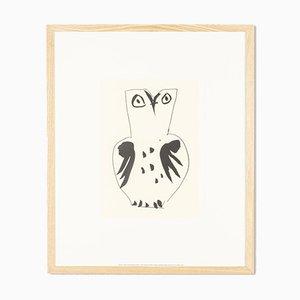 Pablo Picasso, Chouette, Siebdruck